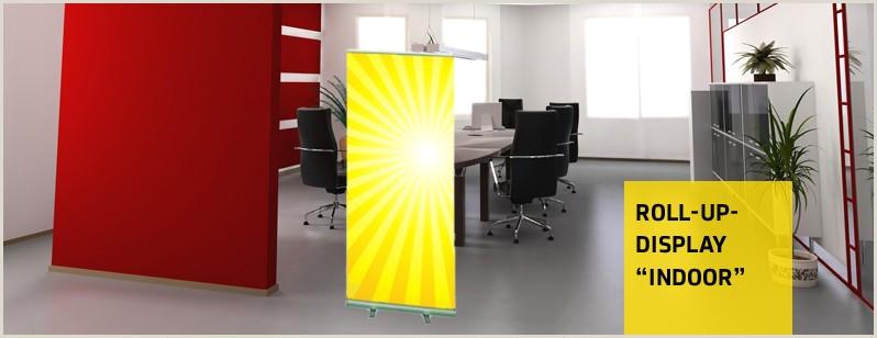 Retractable Banner Design Roll Up Displays