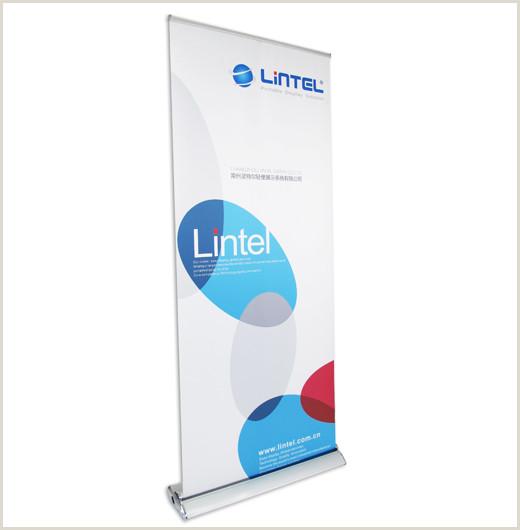 Retractable Banner Stand Changzhou Lintel Display Co Ltd