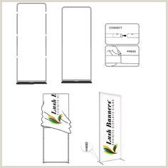 Retractable Banner Stand Instructions 10 Best Fabric Banner Stands Images In 2020