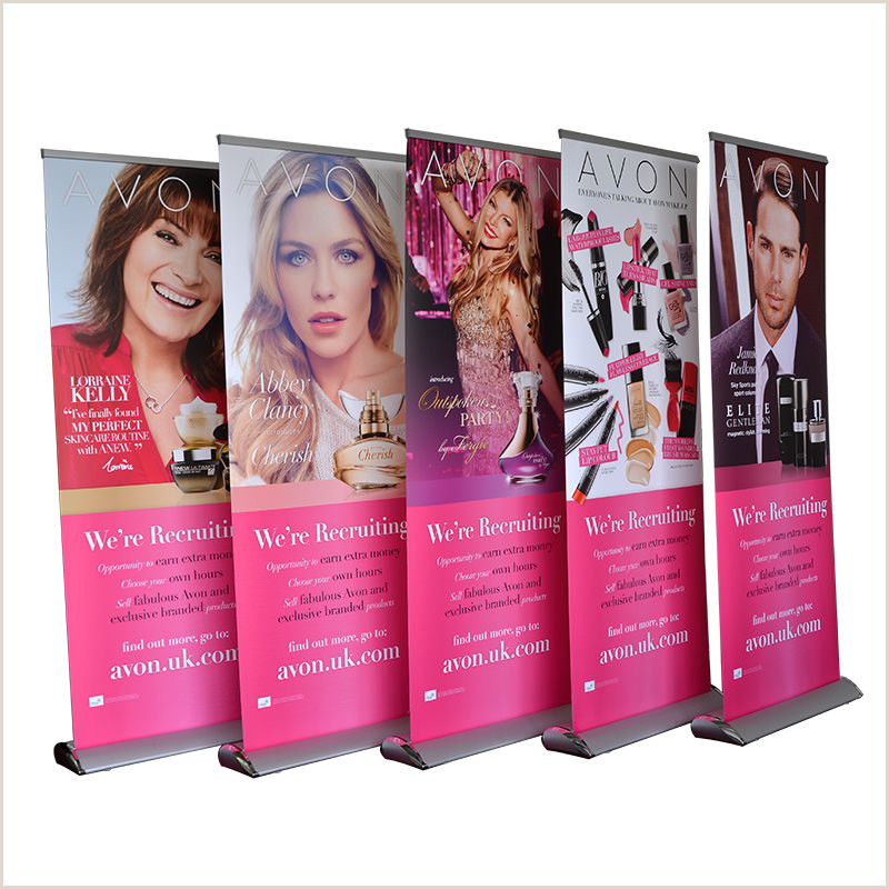 Retractable Banner Stand Retractable Banner Stand Ptc Display