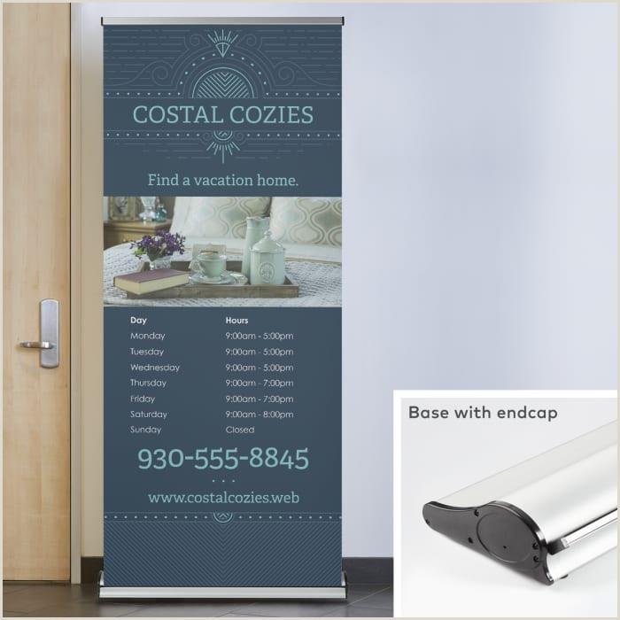 Retractable Banner Vistaprint Retractable Banners