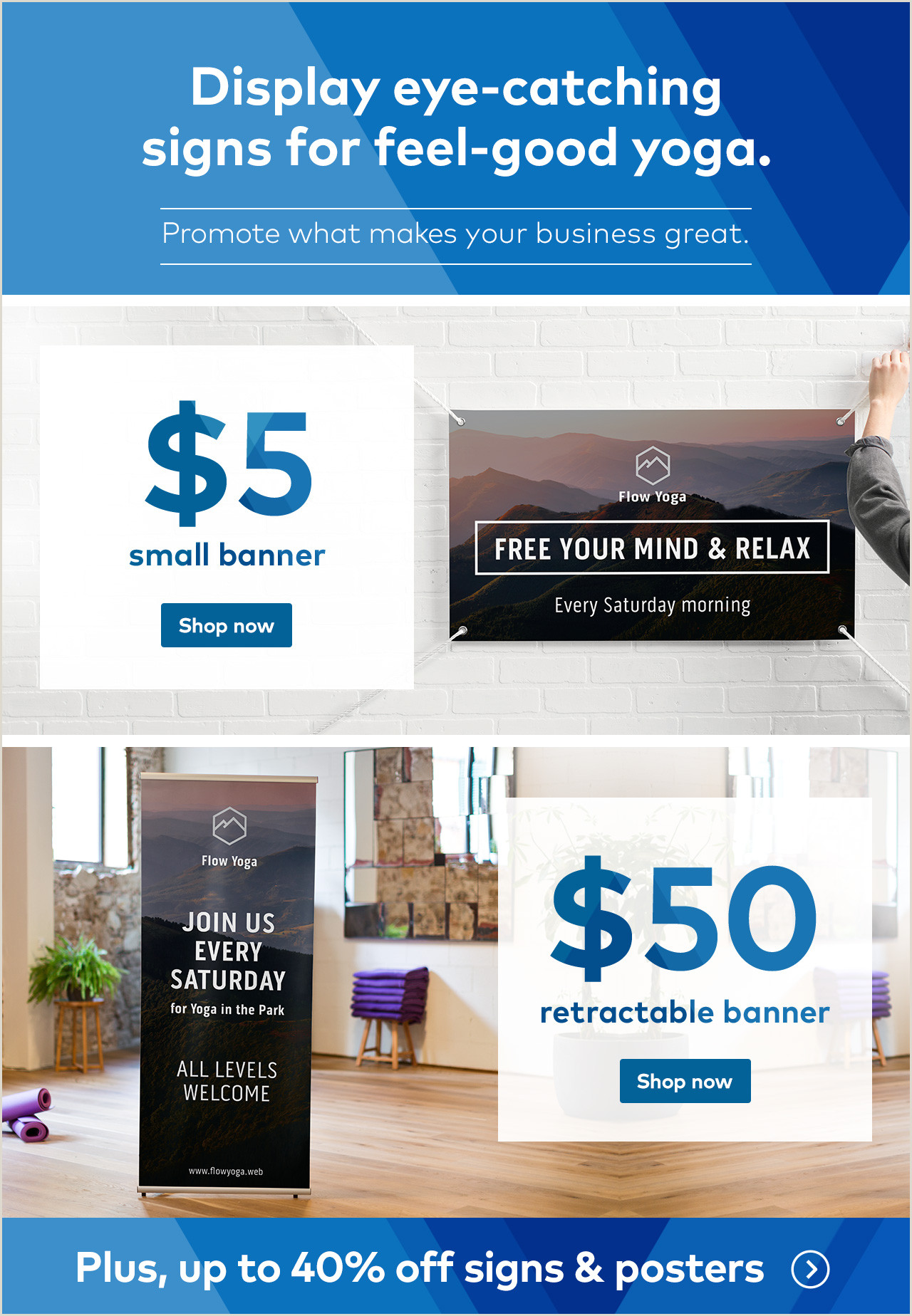 Retractable Banner Vistaprint Vistaprint Ends Tonight $5 Small Banner $50 Retractable