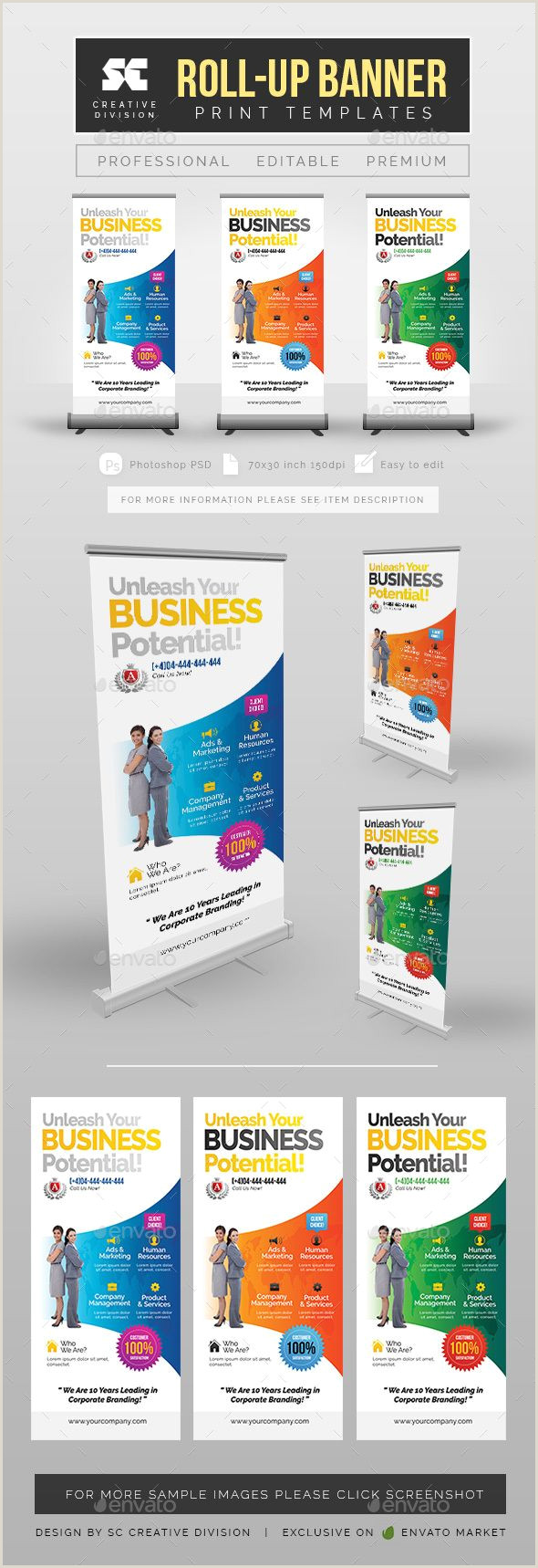 Retractable Banners Printing Bud Roll Up Banner