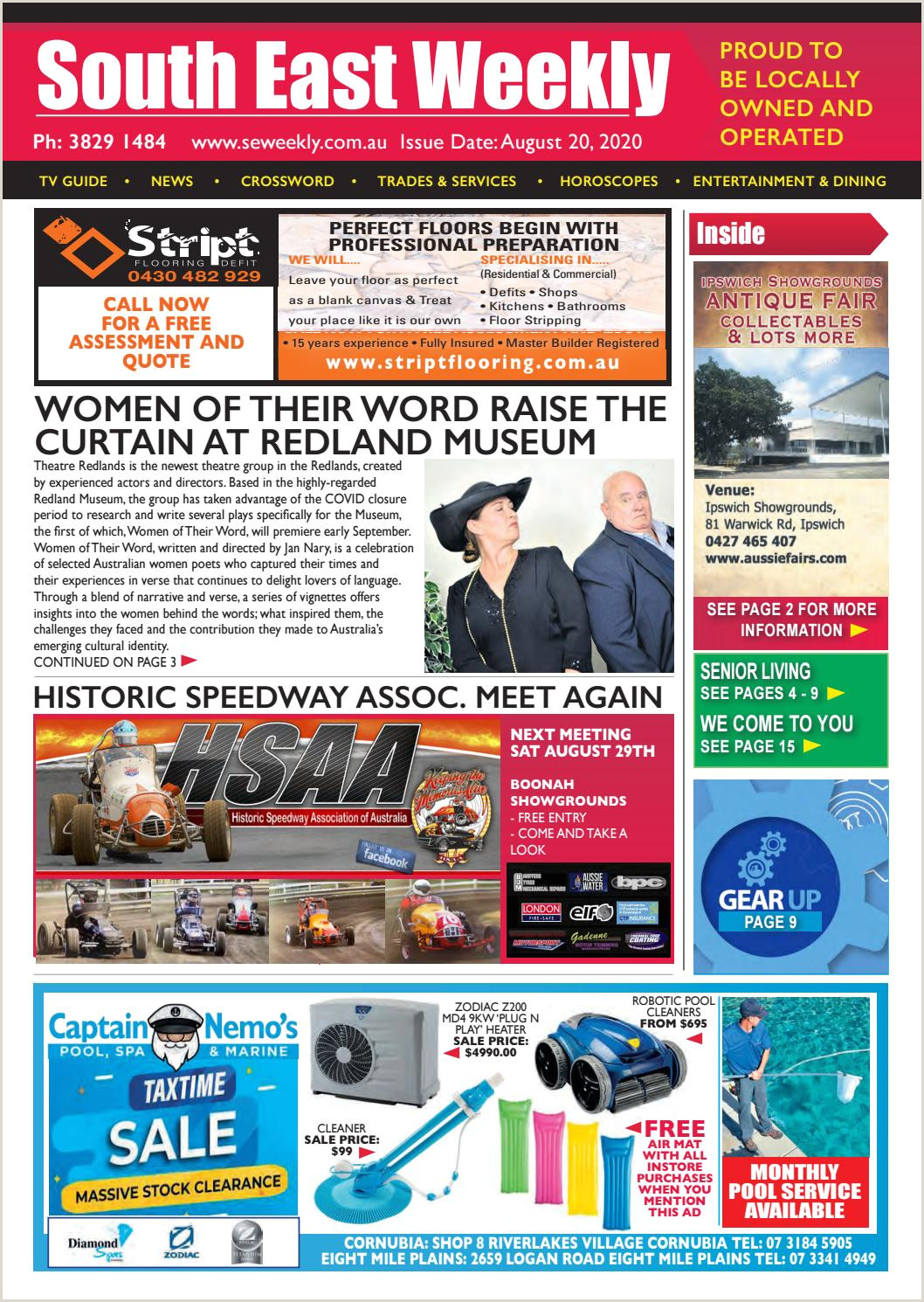 Retractable Displays Roll Ups South East Weekly Magazine Aug 20 2020 By South East Weekly