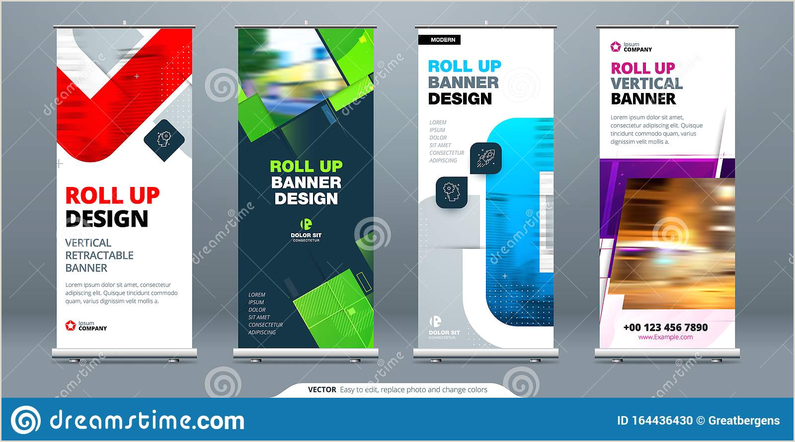 Retractable Hand Banners Banner Retractable Stock Illustrations – 701 Banner