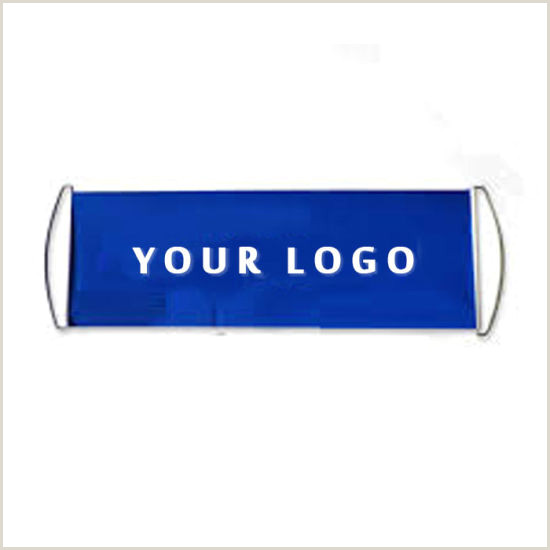 Retractable Hand Banners China Custom Logo Roll Up Cheering Hand Held Retractable