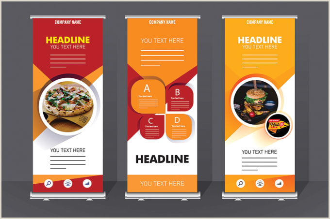 Retractable Hand Banners Design Professional Retractable Roll Up Banner For Your Business In 24 Hours