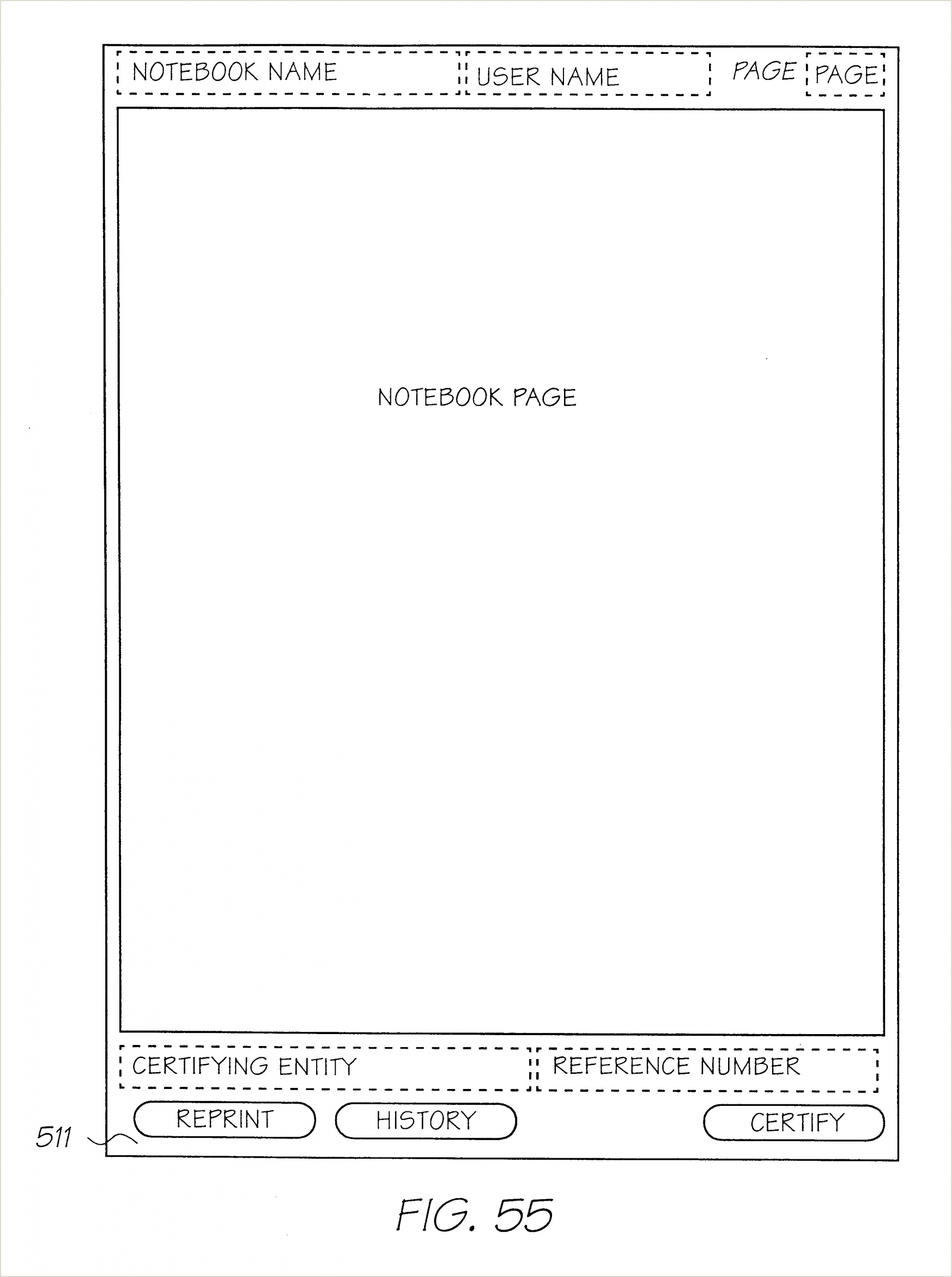 Retractable Scroll Banner Us B2 Method And System For Note Taking Using A Form