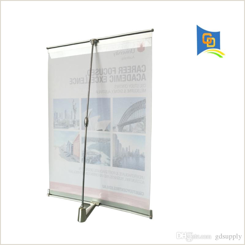 Retractable Sign Stand 2020 Mini L Banner Desktop A3 Size Display Stand For Meeting From Gdsupply $5 64