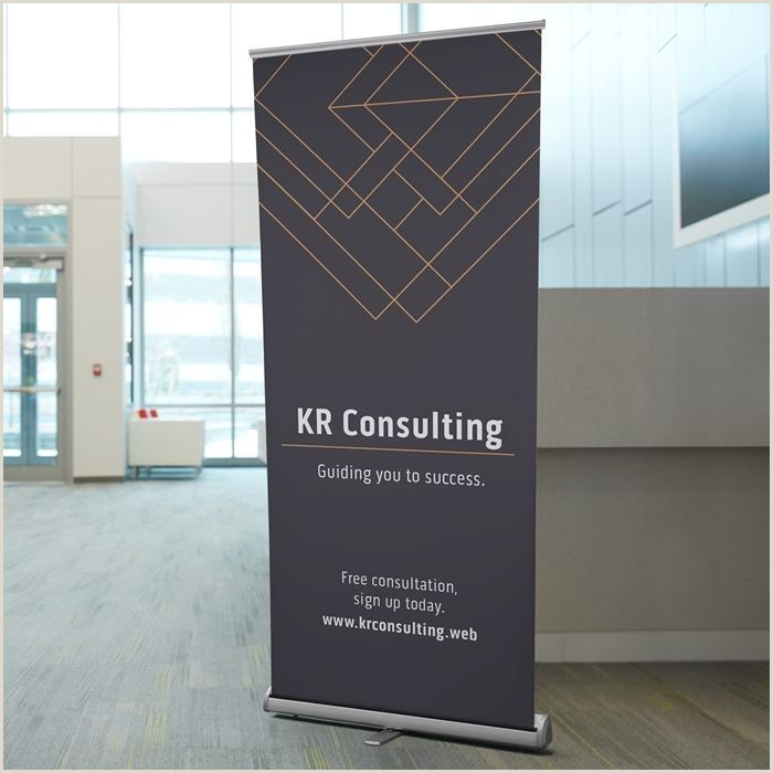 Retractable Sign Stand Sign Banner Stand