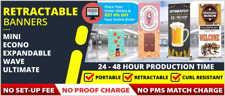Retractable Signs And Banners Retractable Banners