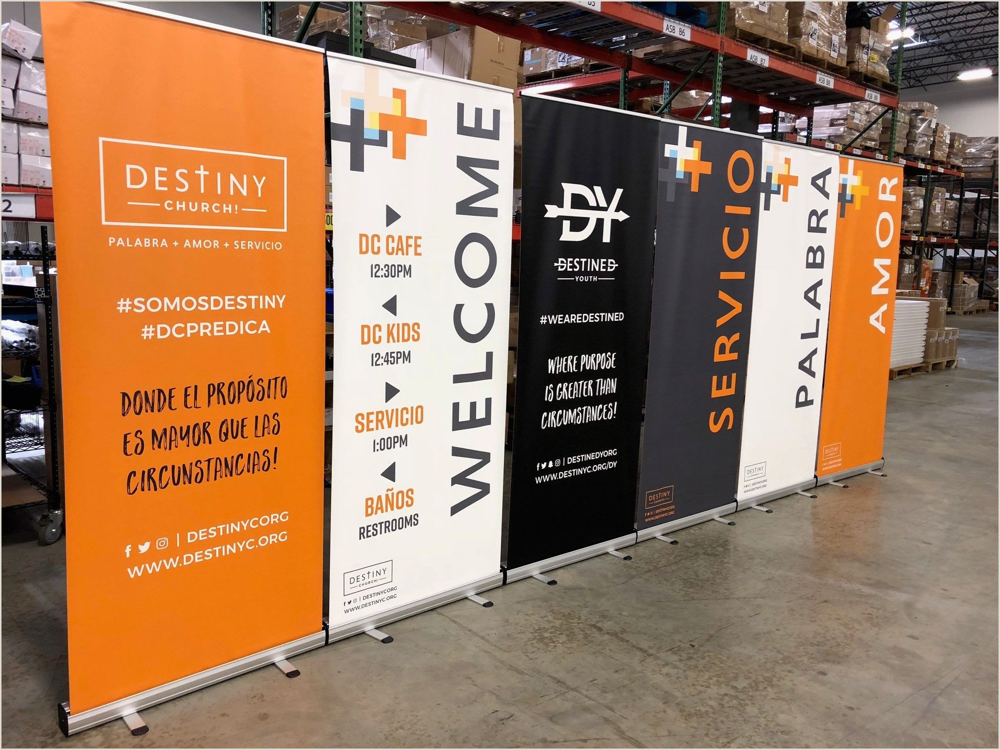 Retractable Signs In Stand Vinyl Banner Standee