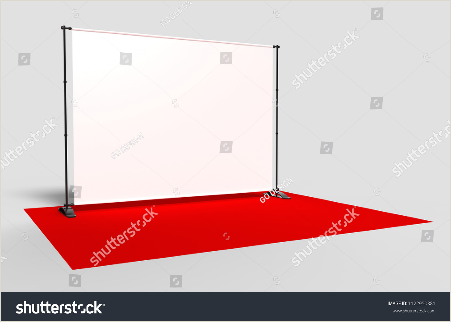 Retractable Step And Repeat Banner Blank Step Repeat Telescoping Backdrop Banner Stock
