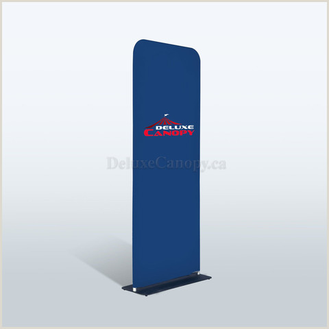 Retractable Step And Repeat Banner S Shaped Tension Banner Stand Trade Show Fabric Stand