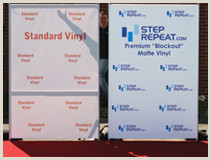 Retractable Step And Repeat Banner Step And Repeat Banners And Retractable Displays