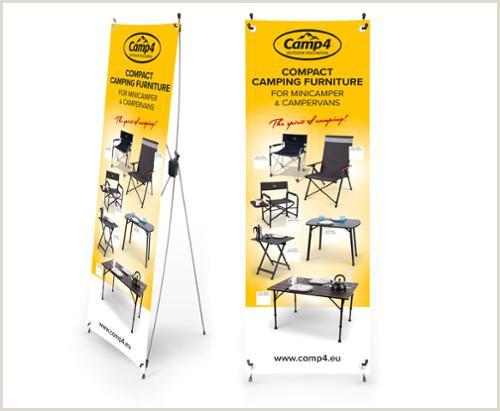 Roll A Banner Camp4 X Banner Kompakte Camping M¸bler F Campingbusse Engelsk