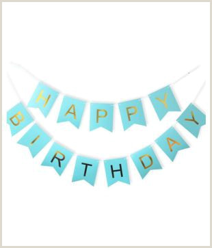Roll A Banner Happy Birthday Banner Bunting Flag Banner For Birthday Party Decoration Firozi