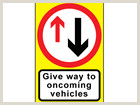 Roll Out Signs Roll Up Road Signs