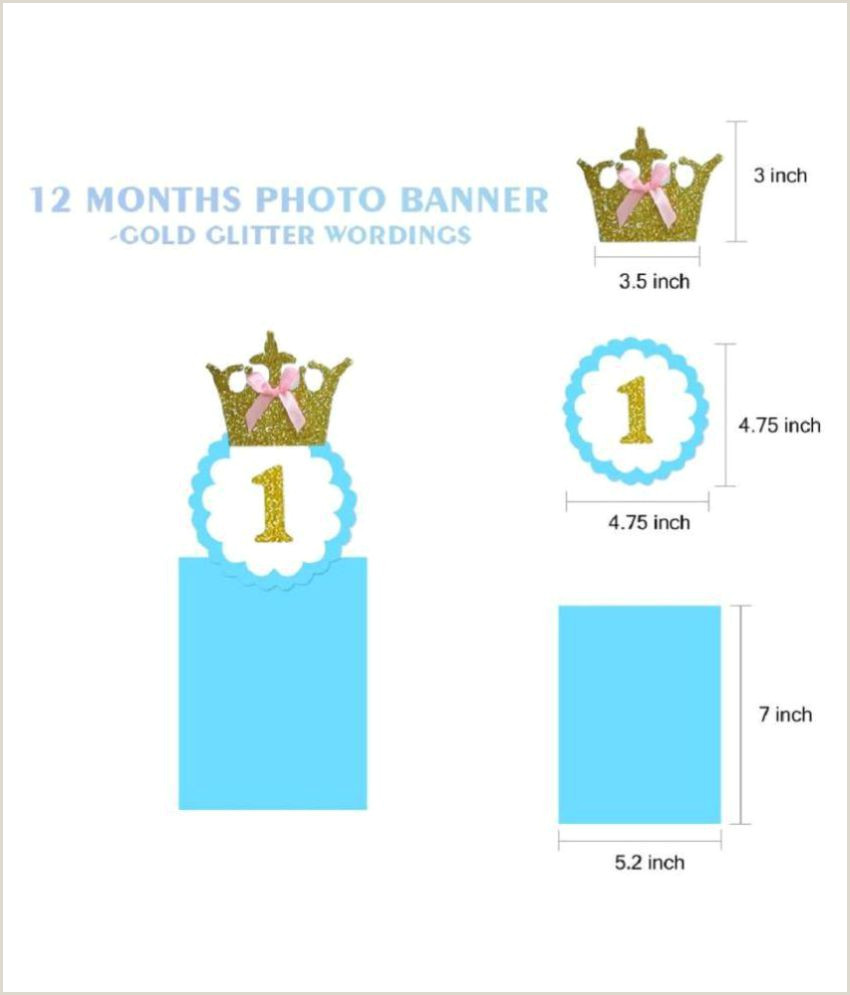 Roll Up Banner Size In Inches Chocozone 1st Birthday Decorations Monthly Milestone Birthday Banner For Newborn To 12 Months Picture Banner For Birthday Baby Shower Gift