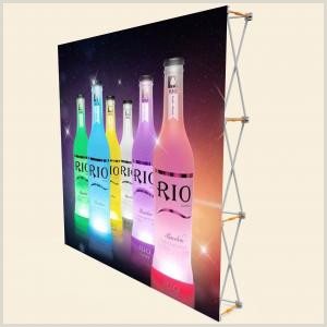 Roll Up Banner Stand 3 X 3 Pop Up Banner Stands With Plastic Buckle Connector