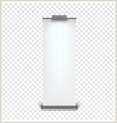 Roll Up Banner Stand Banner Blank Roll Up Stand Vector Over 2 400