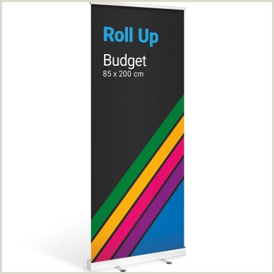 Roll Up Banner Stand Roll Up Bud