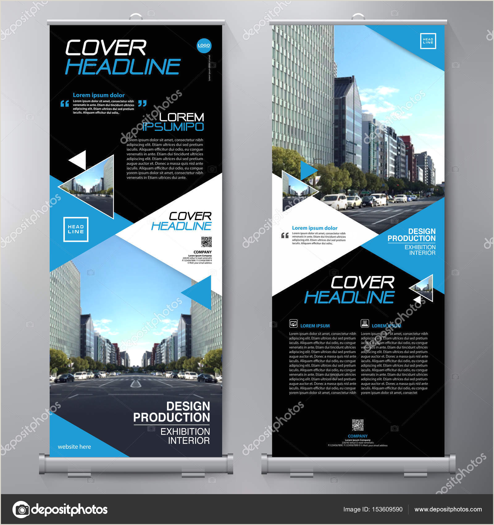 Roll Up Banner Stands Business Roll Up Standee Design Banner Template