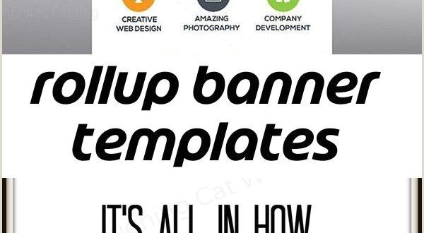 Roll Up Banner Stands Rollup Banner Templates Stylish Graphics