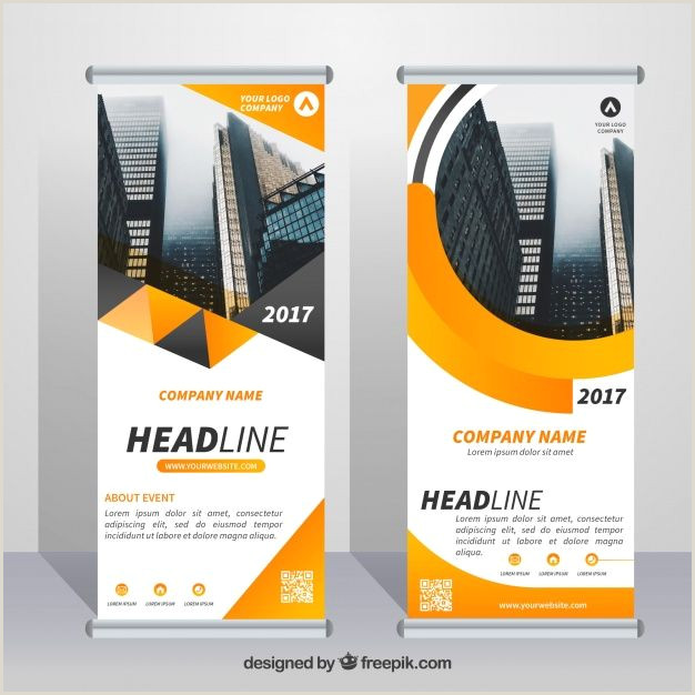 Roll Up Design Download Great Business Roll Up With Orange Forms For Free