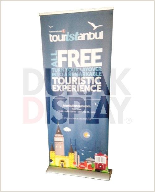 Roll Up Display Banner Lux Roll Up Banner