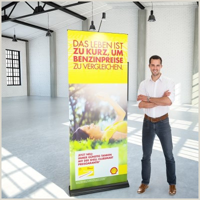 Roll Up Displays Roll Ups Und Rollup Banner Inkl Druck Ab 19 € Bei Konorg