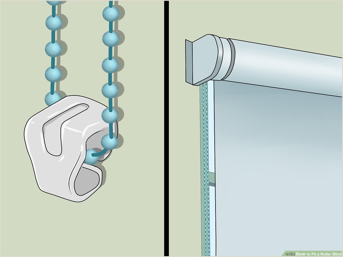 Roll Up Size How To Fit A Roller Blind 9 Steps With Wikihow