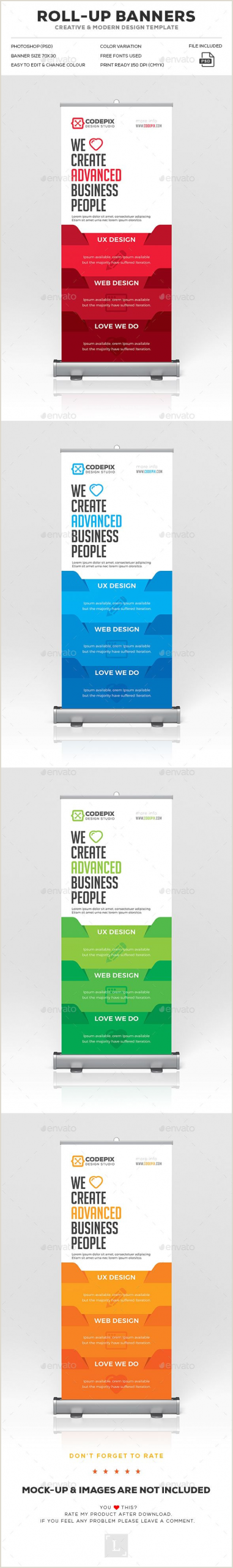Roll Up Size Roll Up Banner