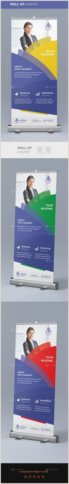 Roll Up Standee 20 Best Roll Up Banner Design Images In 2020