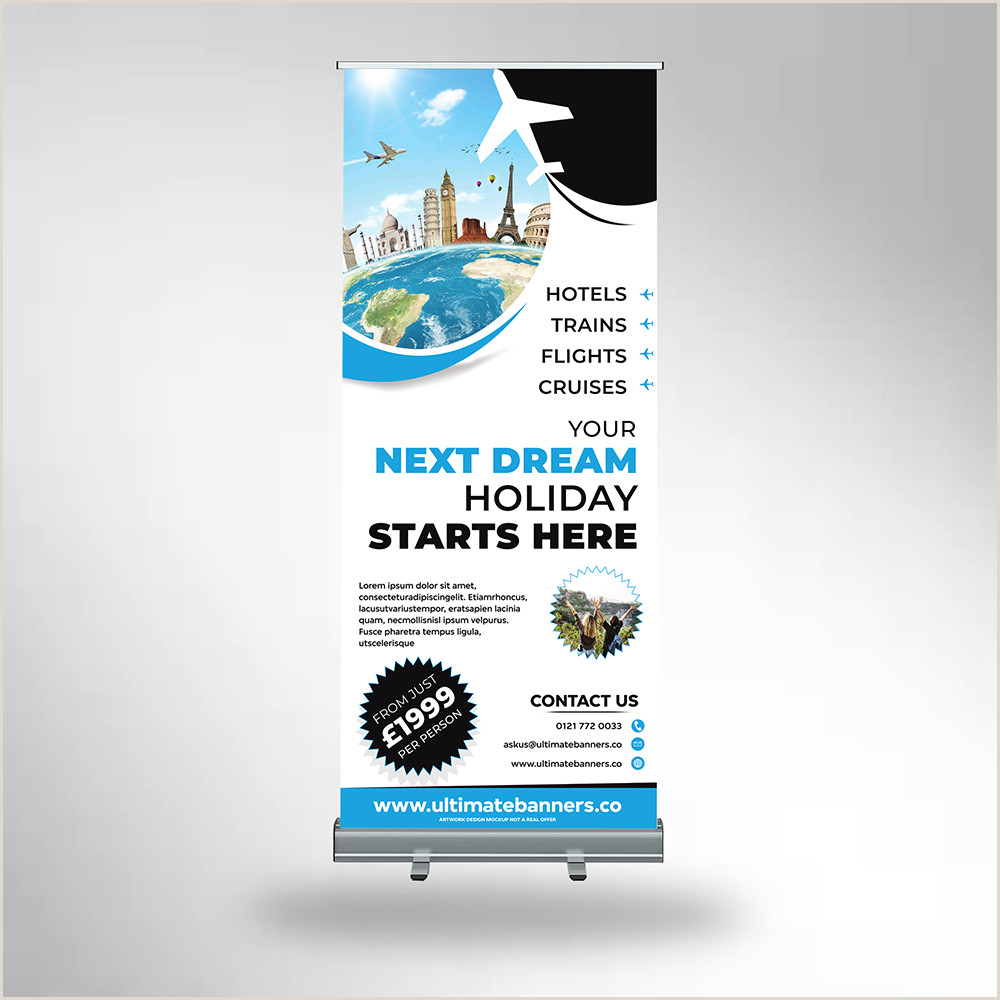 Roller Banner Design Free Roller Banners Artwork Templates