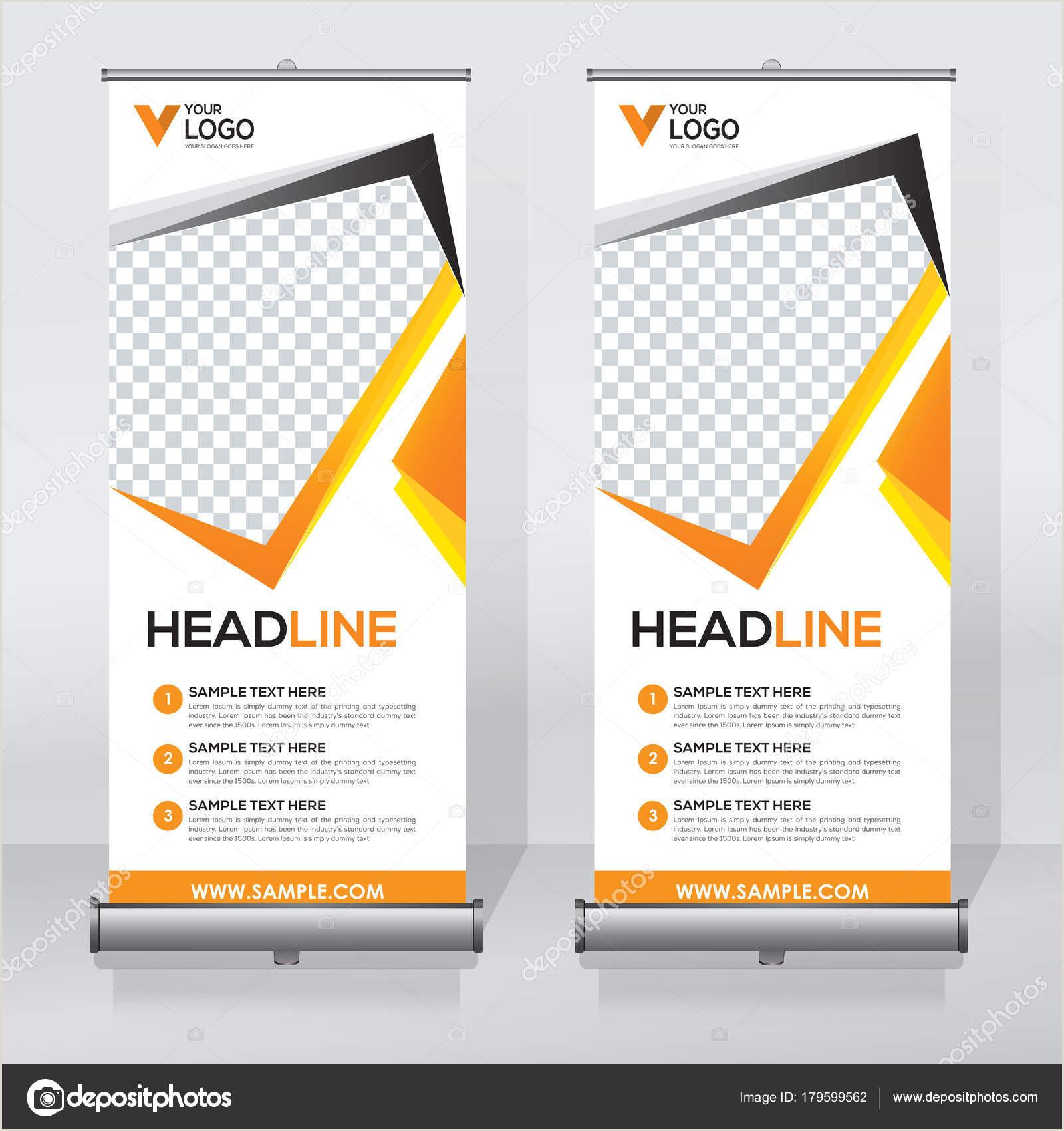 Roller Banner Design Roll Up Banner Design Template Abstract Background Pull Up Design Modern X Banner Rectangle Size