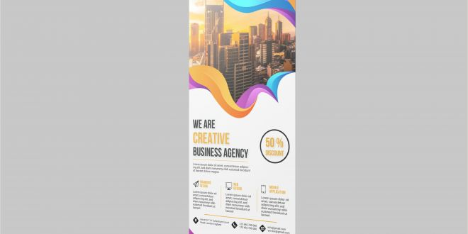Roller Banner Design Roll Up Banners Creative & Professional Roll Up Banners