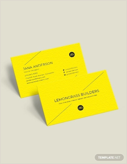 Samples Of Business Cards 14 Best Business Card Templates Ai Pages Psd
