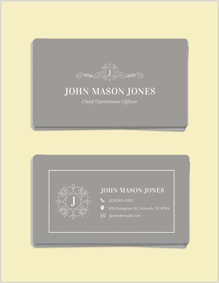 Samples Of Business Cards 18 Business Card Examples Templates & Design Ideas
