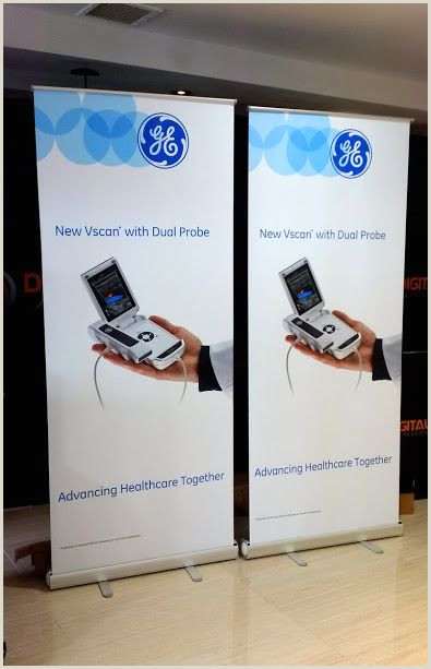 Scrolling Banner Stand Roll Up Banner Stand Is Perfect For The Pany That Needs A