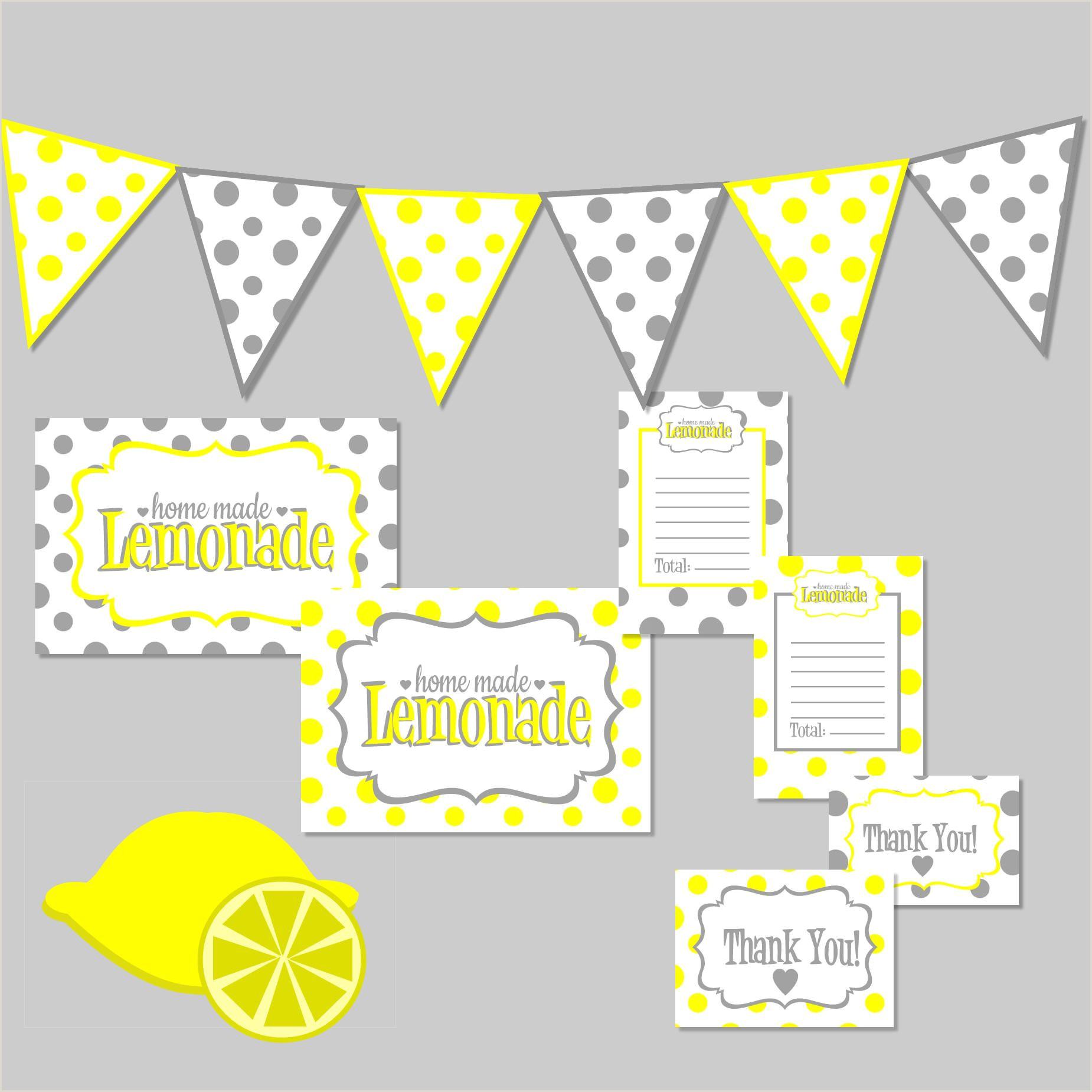 Self Standing Banner Green Lemonade Stand Sign Personalized Banner