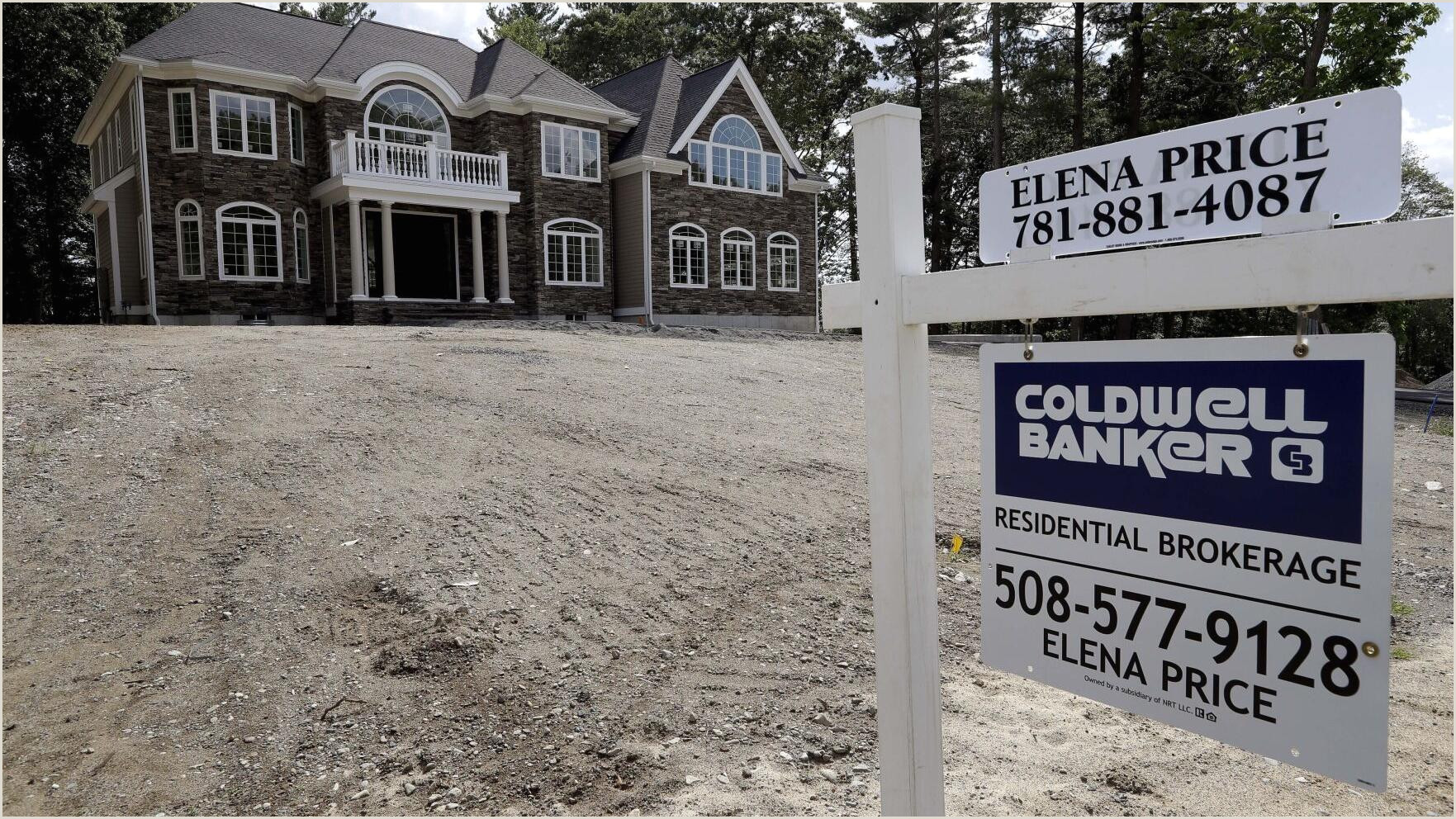 Self Standing Signs S&p Corelogic Case Shiller Us Home Prices Up 5 In August