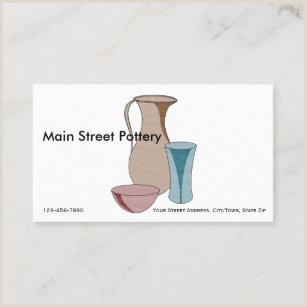 Selling Ceramics Best Business Cards Clay Pottery Business Cards Business Card Printing