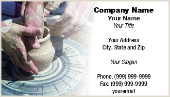 Selling Ceramics Best Business Cards Pottery Business Cards
