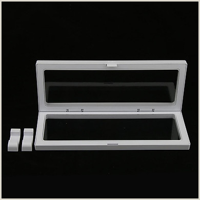 Sign Display Stand Chic Jewelry 3d Floating Display Frame Case Box Coin Display Stand Holder