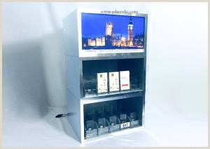 Sign Display Stand Layers Free Bination Metal Tobacco Cigarette Display