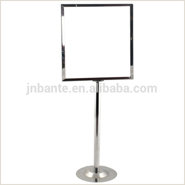 Sign Display Stand Metal Sign Holders Sign Display Stands Metal Sign Stands