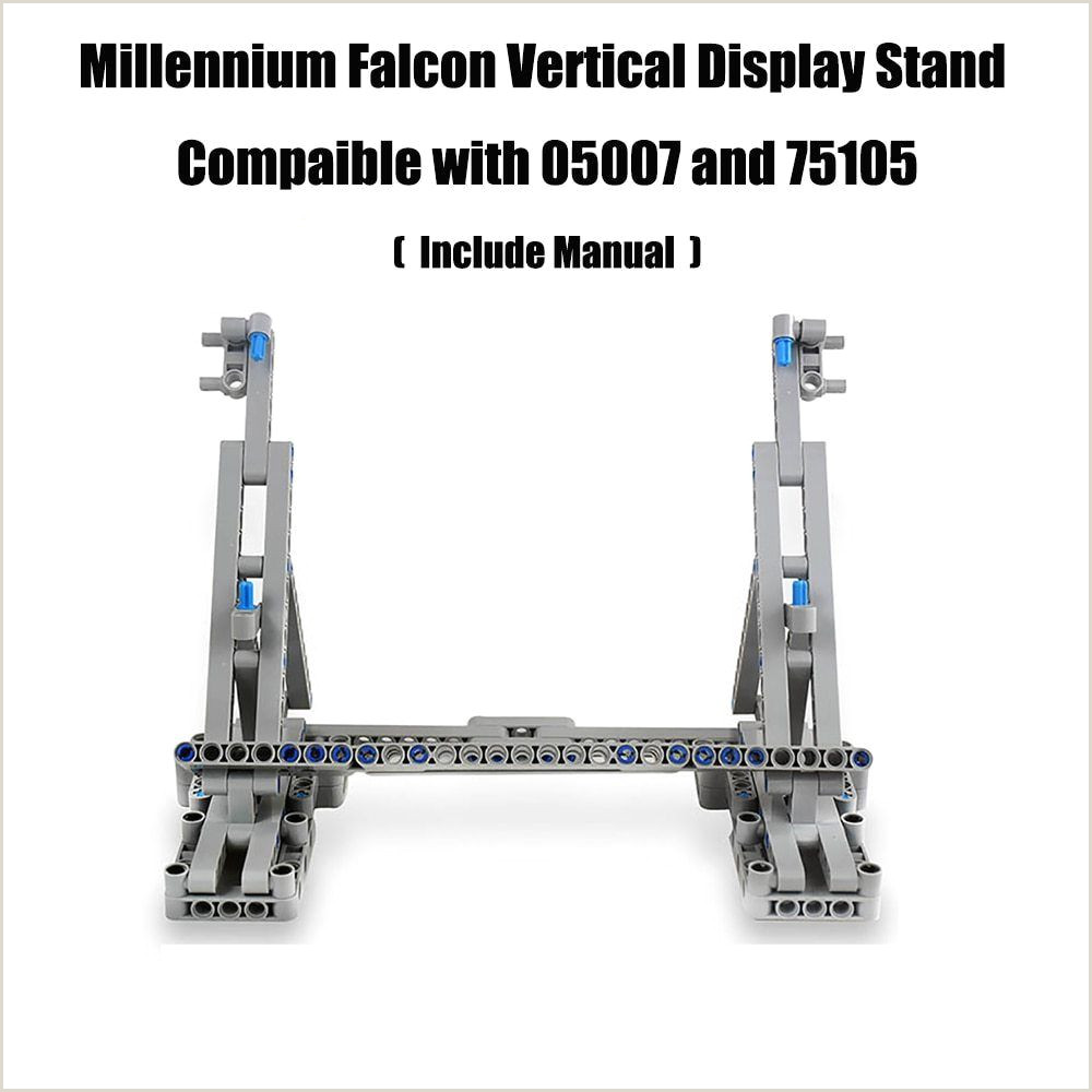 Sign Display Stand Moc Vertical Display Stand For Millennium Falcon Patible