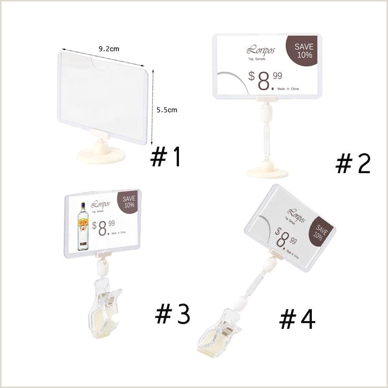 Sign Displays Stands 2020 Supermarket Pop Shelf Pipe Clip Label Sign Paper Name Card Holder Stand Pvc Cover Sleeve For Merchandise Info Price Display From Lucindawu $8 41
