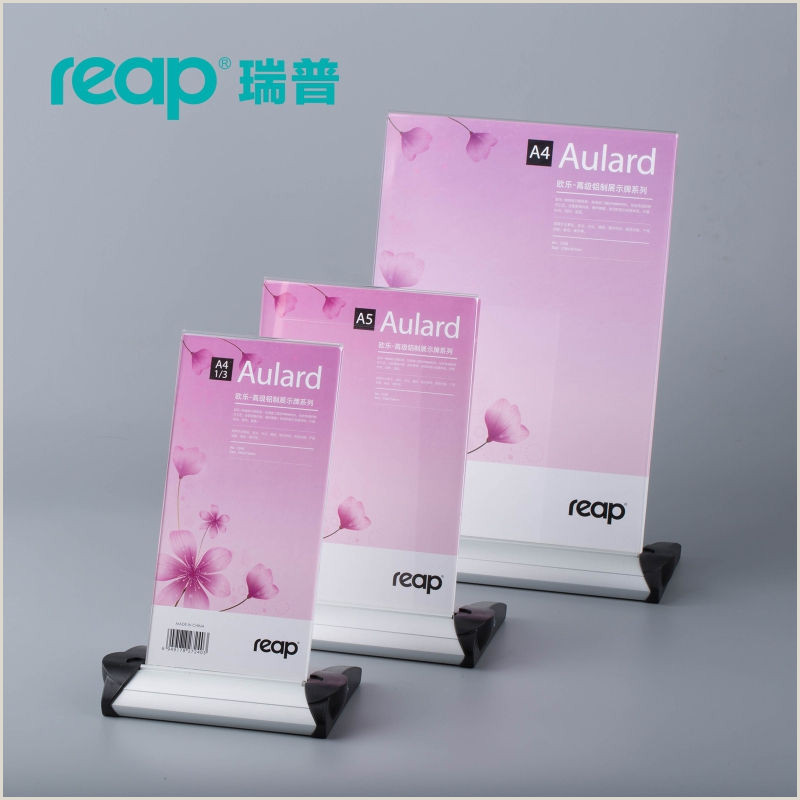 Sign Displays Stands Acrylic Sign Holders Line Shopping